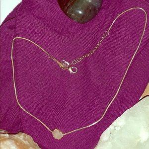 Gorgeous Rose Quartz Kendra Scott Choker Necklace.